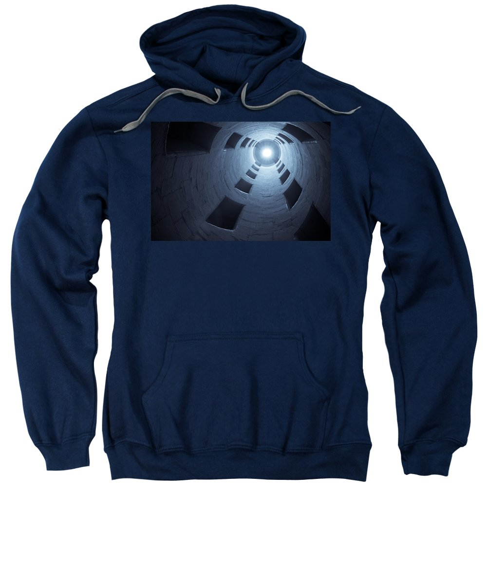 Staircase Sweatshirt featuring the photograph Chateau De Chambord Double Staircase by Sebastian Musial