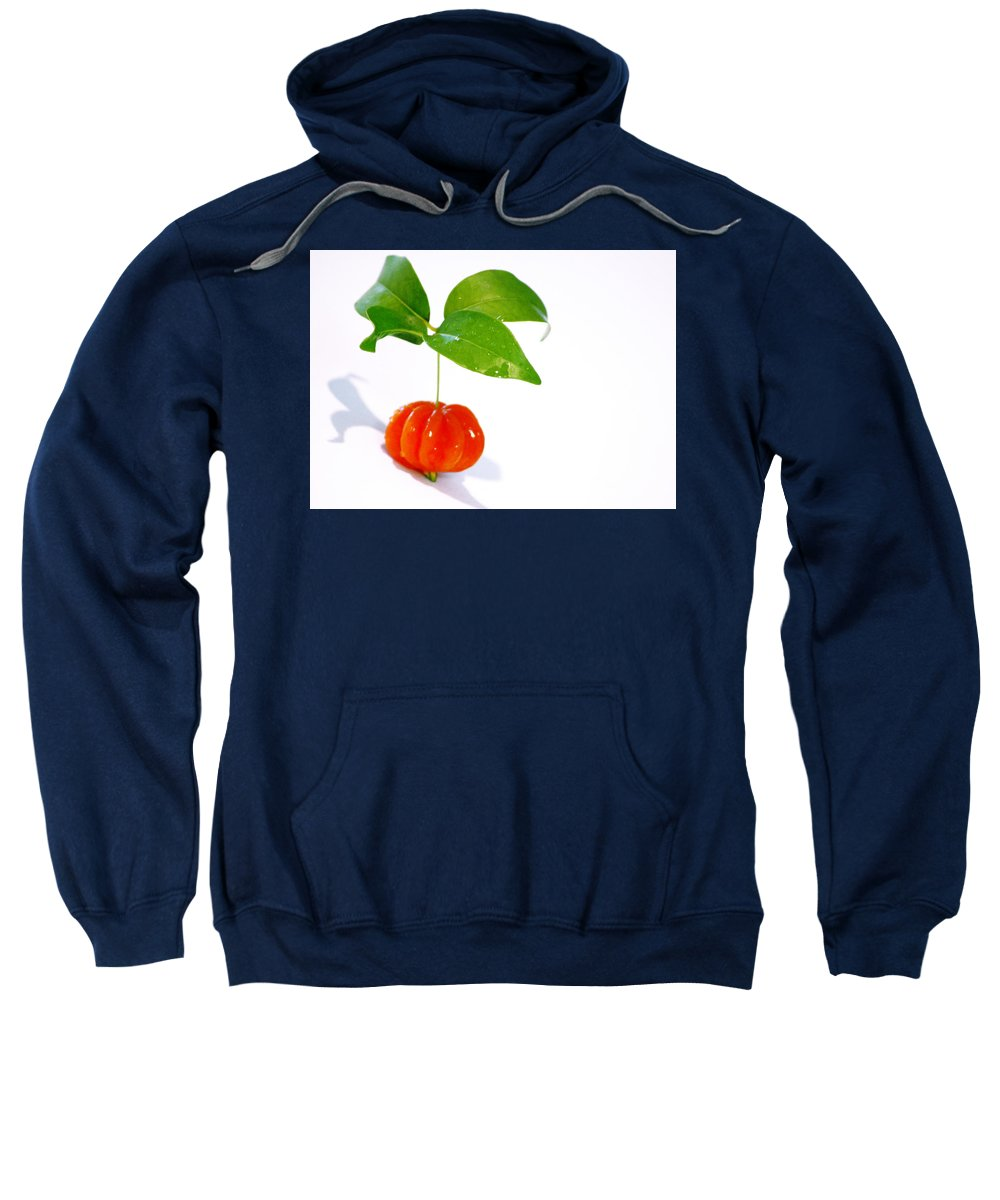 Food Sweatshirt featuring the photograph Cherry by Holly Kempe