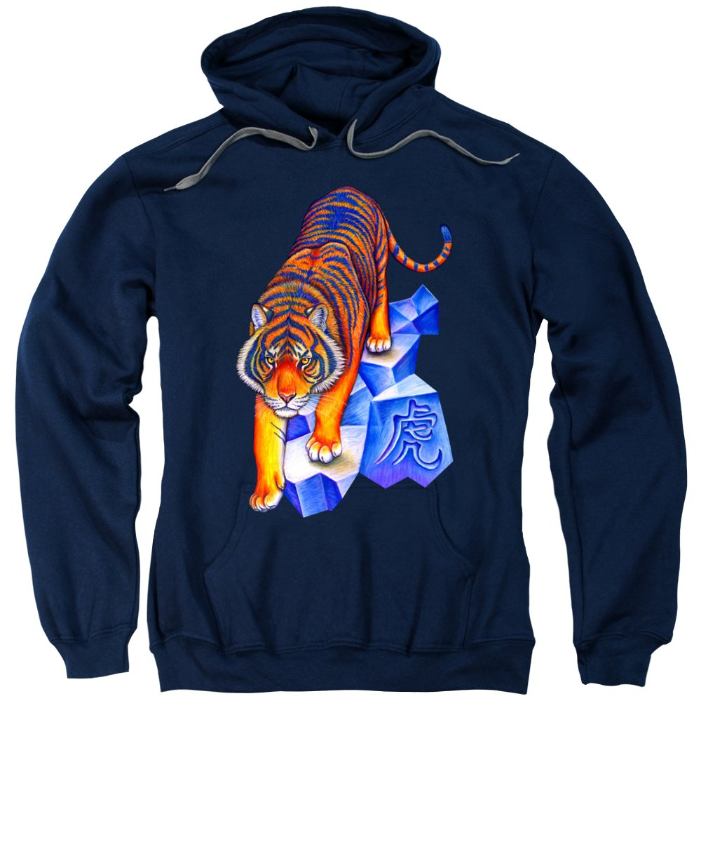 Year Of The Tiger Hooded Sweatshirts T-Shirts