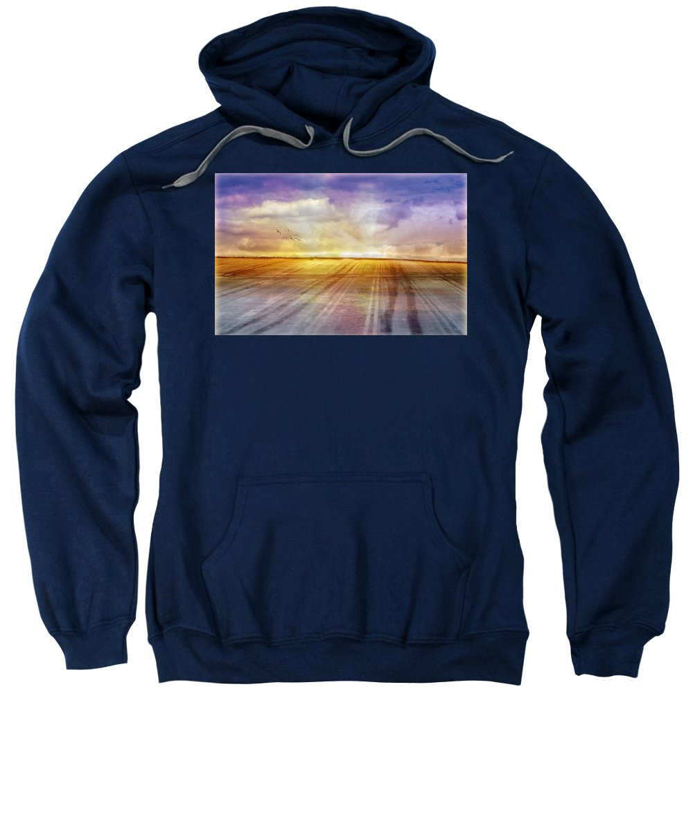 Landscapes Sweatshirt featuring the photograph Choices by Holly Kempe