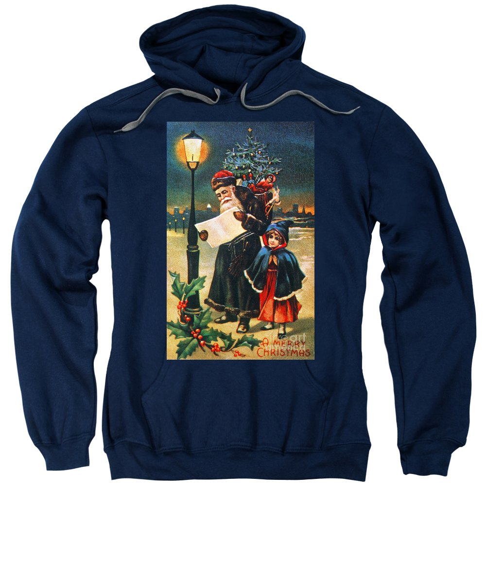 19th Century Sweatshirt featuring the photograph Christmas Card by Granger