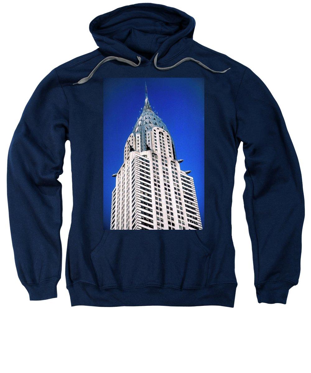 Chrysler Building Sweatshirt featuring the photograph Chrysler Building by John Greim