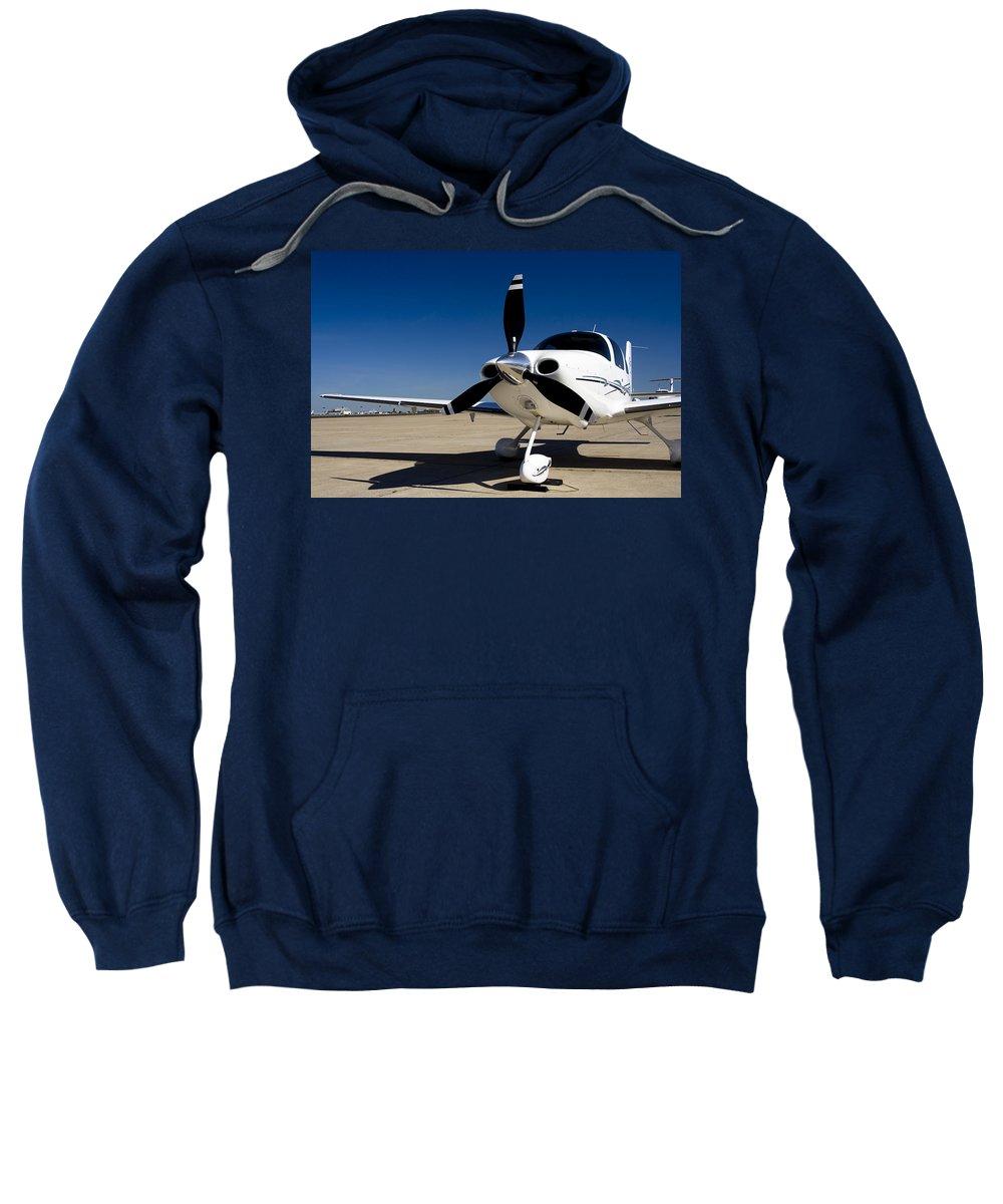 Aerospace Sweatshirt featuring the photograph Cirrus by Ricky Barnard