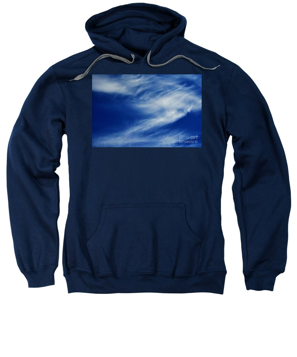 Clay Sweatshirt featuring the photograph Cloud Formations by Clayton Bruster