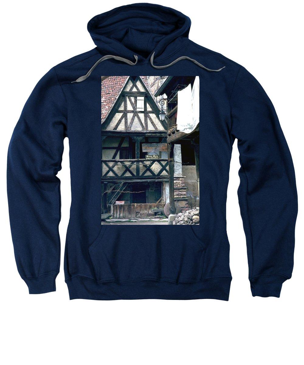 Colmar Sweatshirt featuring the photograph Colmar by Flavia Westerwelle