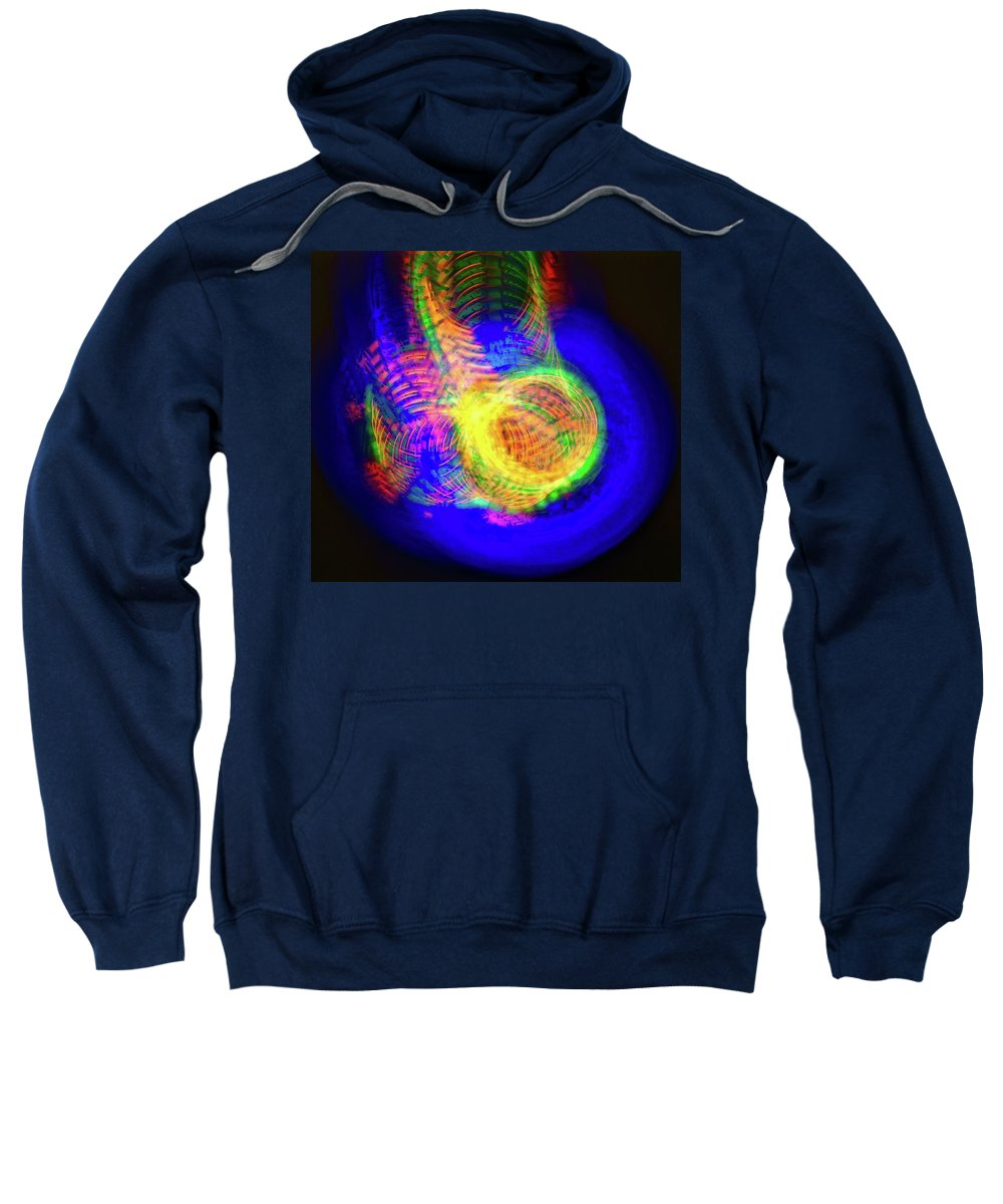 Photo Impression Sweatshirt featuring the photograph Color Funnels Photo Painting by Blair Seitz