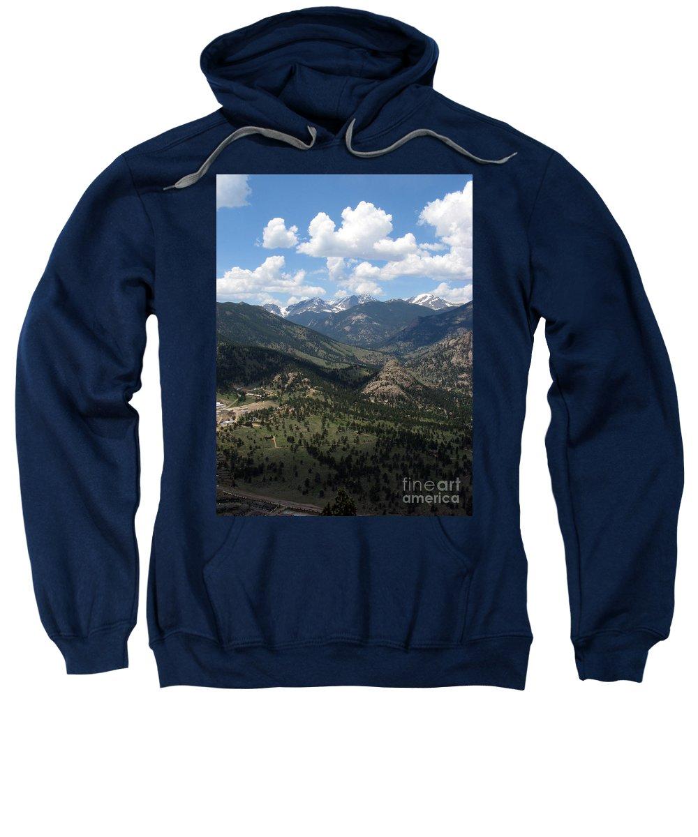 Colorado Sweatshirt featuring the photograph Colorado by Amanda Barcon