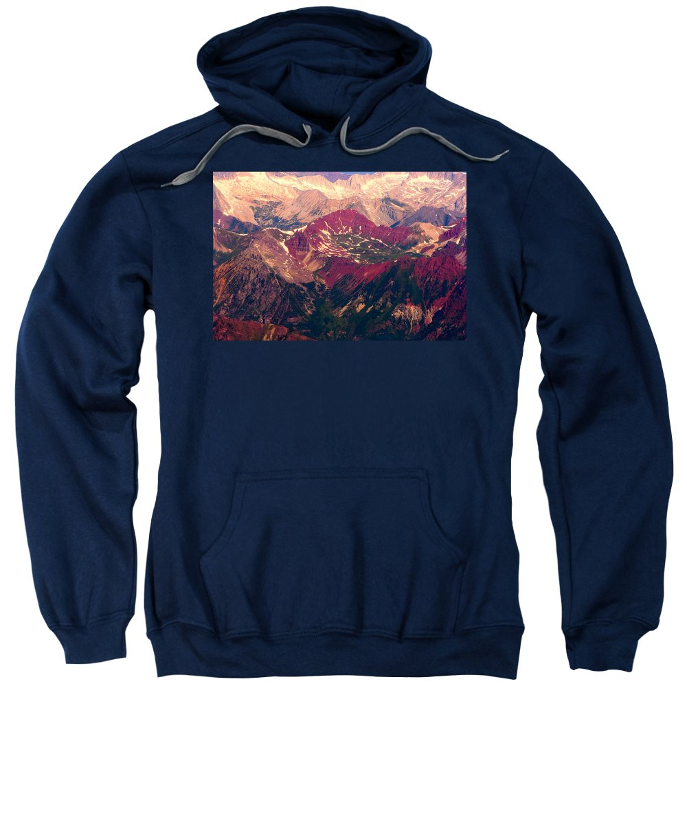 Colorado Sweatshirt featuring the photograph Colorful Colorado Rocky Mountains by James BO Insogna