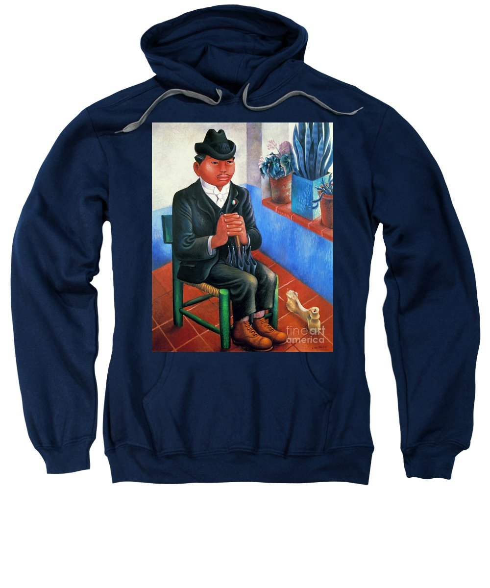 1930s Sweatshirt featuring the photograph Covarrubias: The Bone by Granger