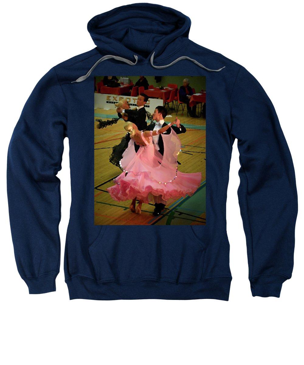 Lehtokukka Sweatshirt featuring the photograph Dance Contest Nr 13 by Jouko Lehto