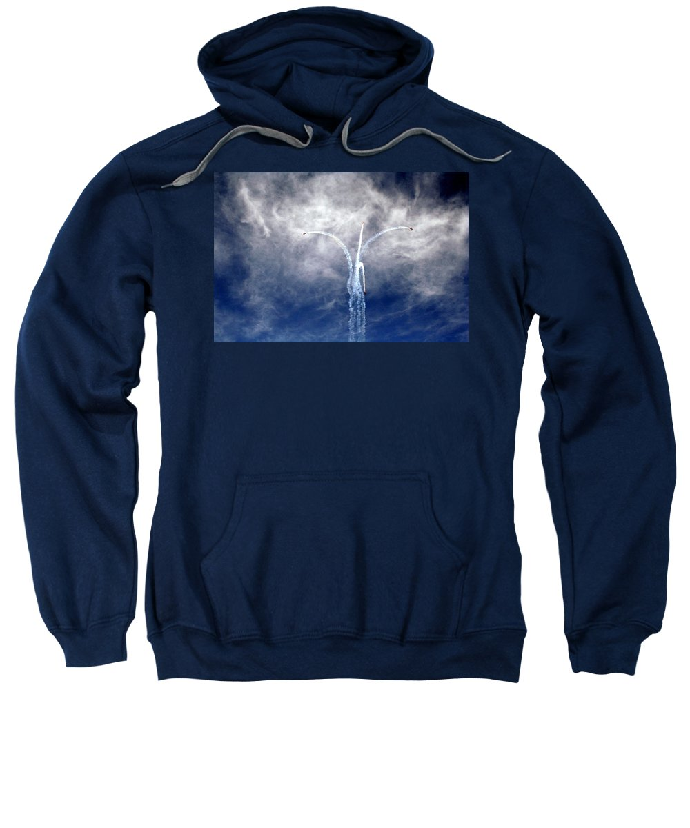 Al Ain Sweatshirt featuring the photograph Dance In The Clouds by Lene Pieters