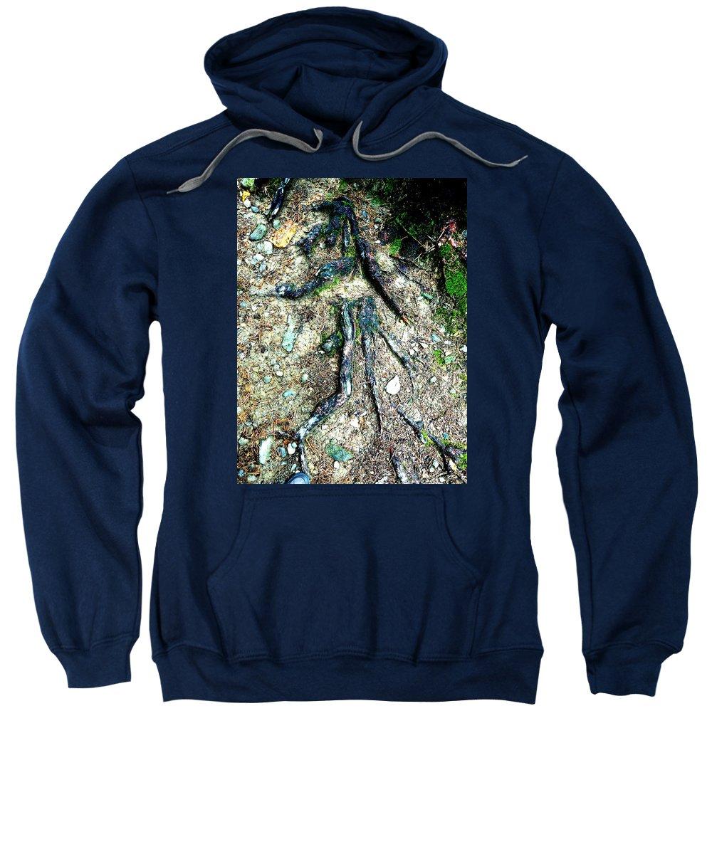 Roots Sweatshirt featuring the photograph Dancer by Valerie Ornstein