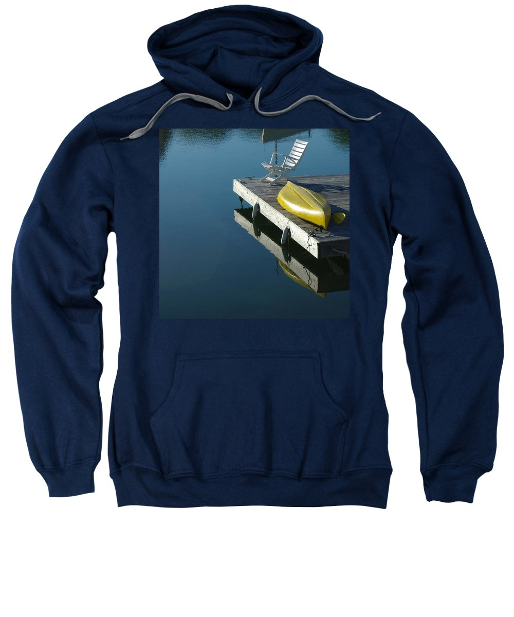 Landscape Nautical New England Kennebunkport Sweatshirt featuring the photograph Dnre0609 by Henry Butz