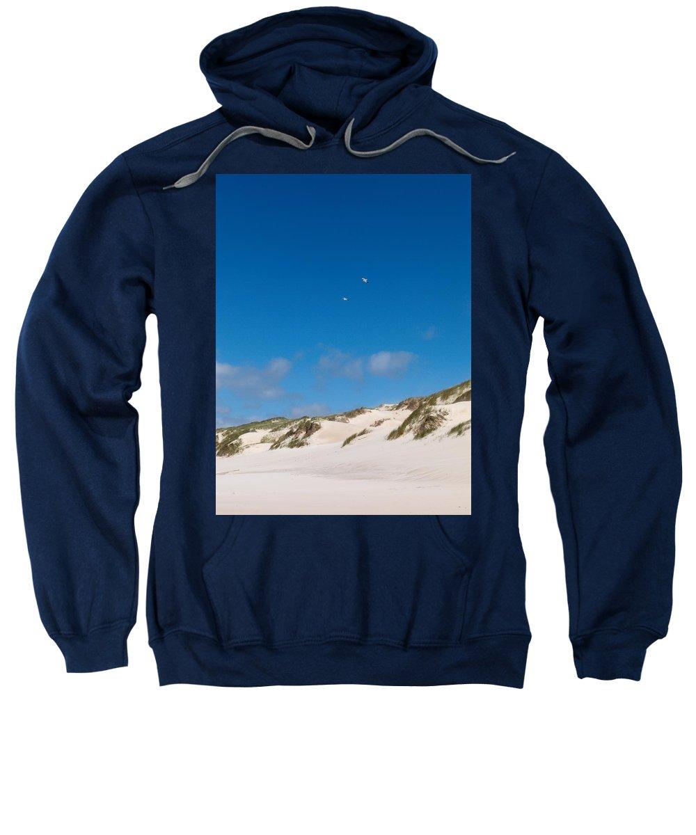 Lehtokukka Sweatshirt featuring the photograph Dunes Of Danmark 1 by Jouko Lehto
