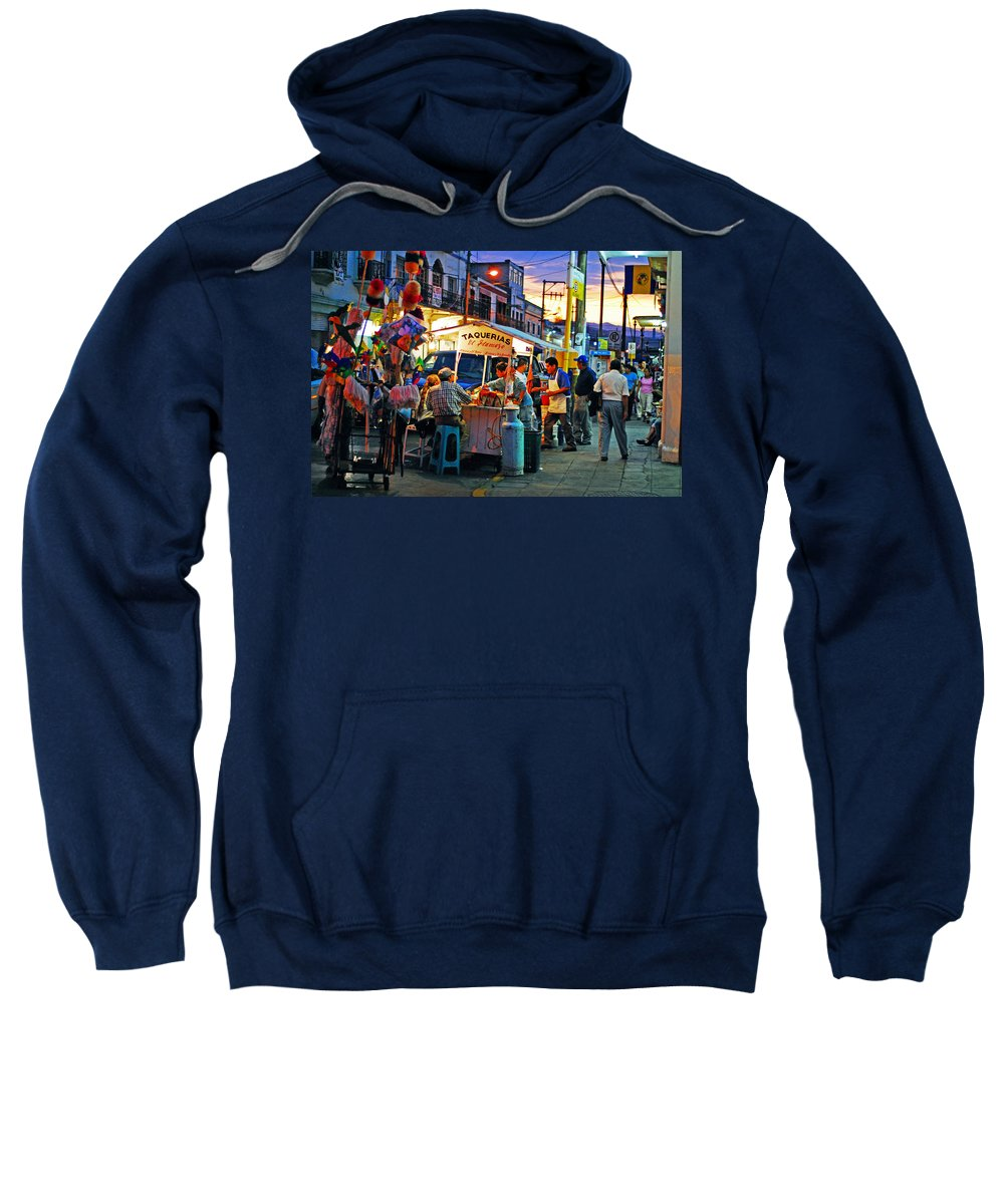 Skip Hunt Sweatshirt featuring the photograph El Flamazo by Skip Hunt