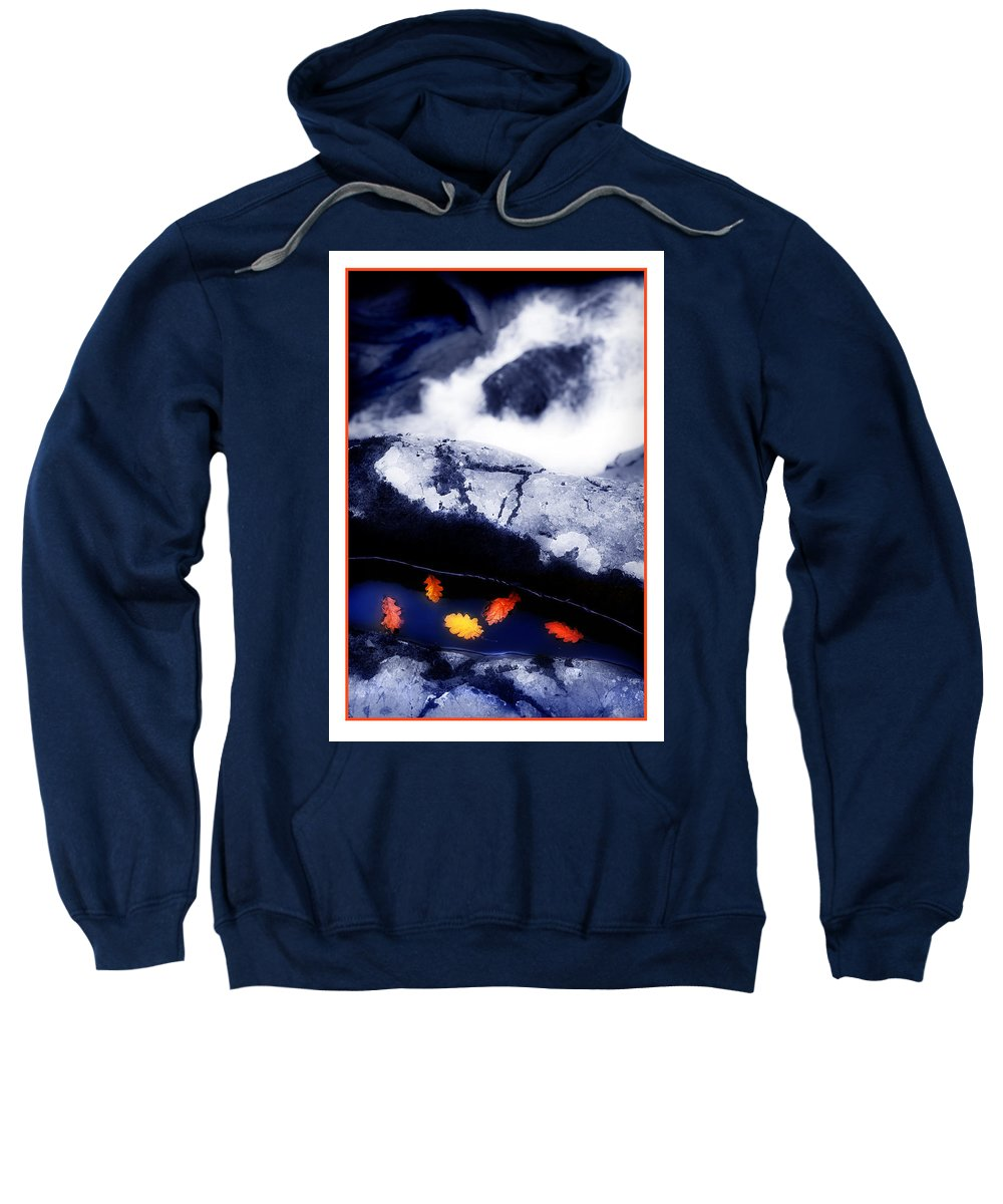 Water Sweatshirt featuring the photograph Fall Quintet by Mal Bray