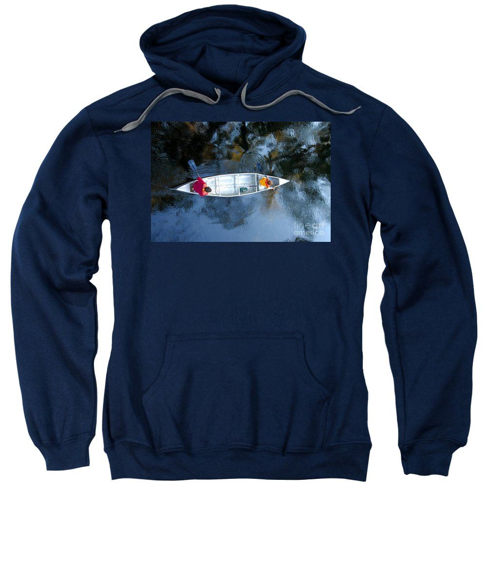 Father Sweatshirt featuring the photograph Fishing Trip by David Lee Thompson