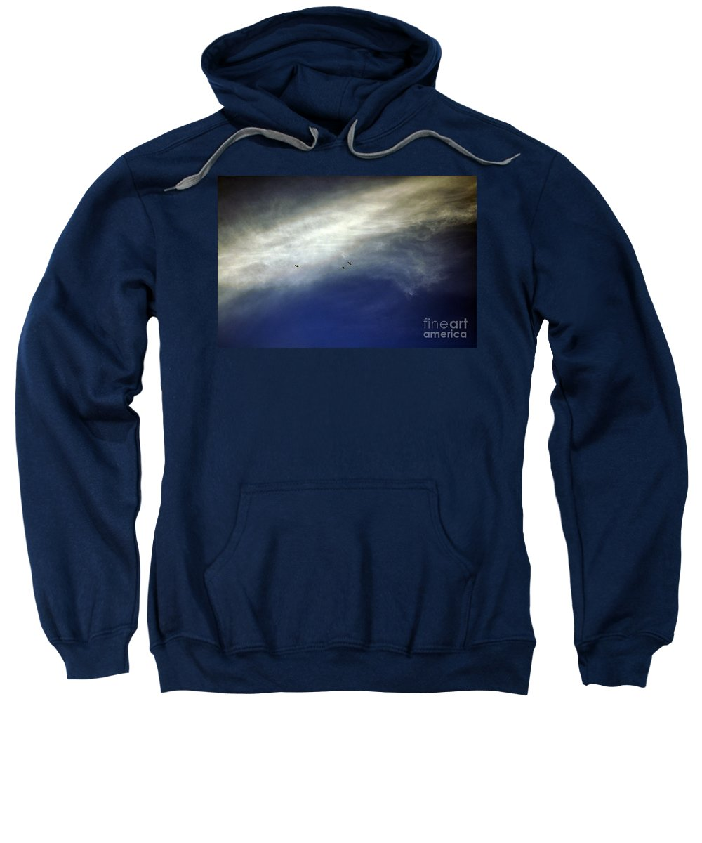 Clay Sweatshirt featuring the photograph Flight by Clayton Bruster