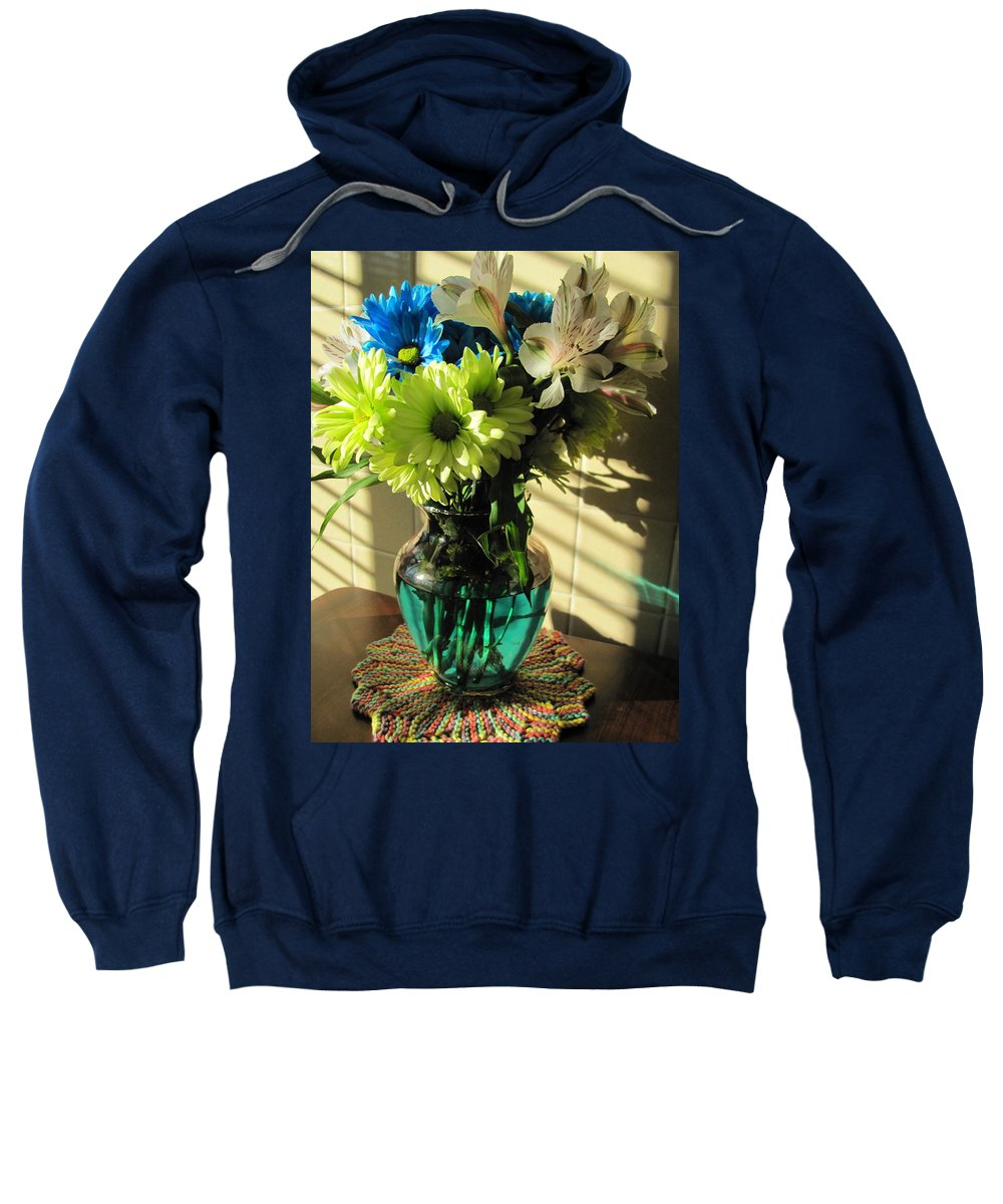 Flowers Sweatshirt featuring the photograph Floral Bouquet 3 by Anita Burgermeister