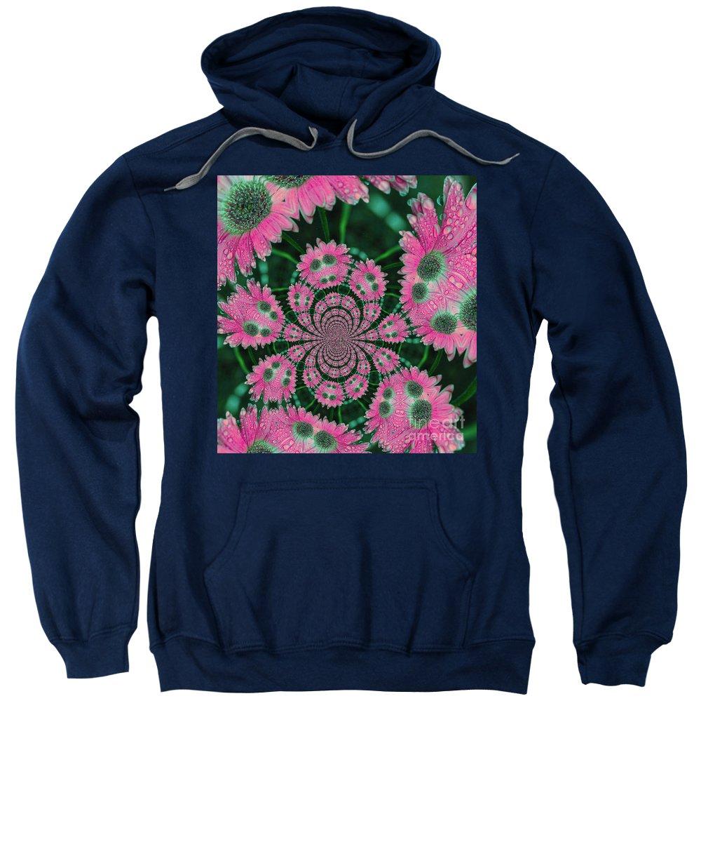 Flower Sweatshirt featuring the photograph Flower Design by Karol Livote