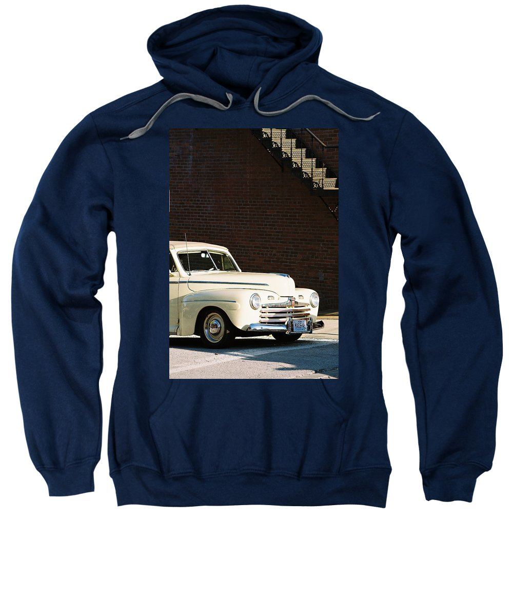 Car Sweatshirt featuring the photograph Ford by Steve Karol