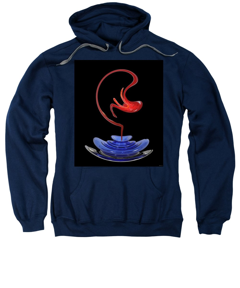 Genie Sweatshirt featuring the photograph Genie Out Of Bottle by Merja Waters