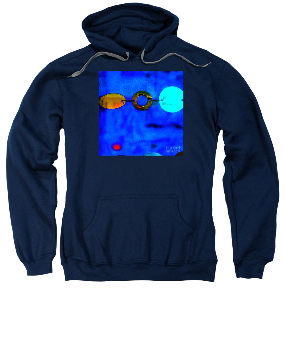Abstract Sweatshirt featuring the photograph Genisis 3 by Deb Cohen