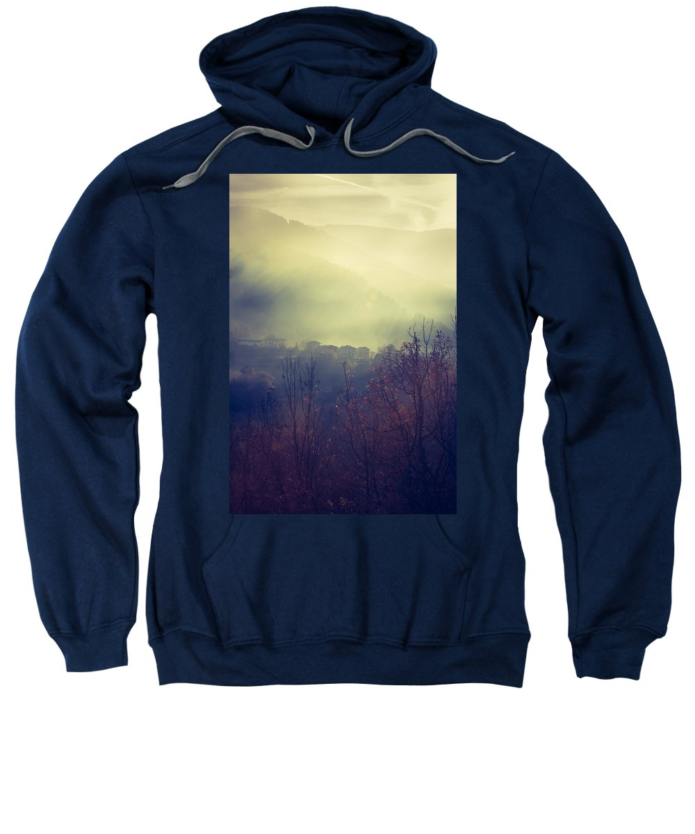 Ghost Sweatshirt featuring the photograph Ghost Town by Daniele Sala