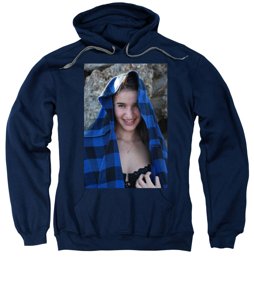 Woman Sweatshirt featuring the photograph Gisele by Rob Hans