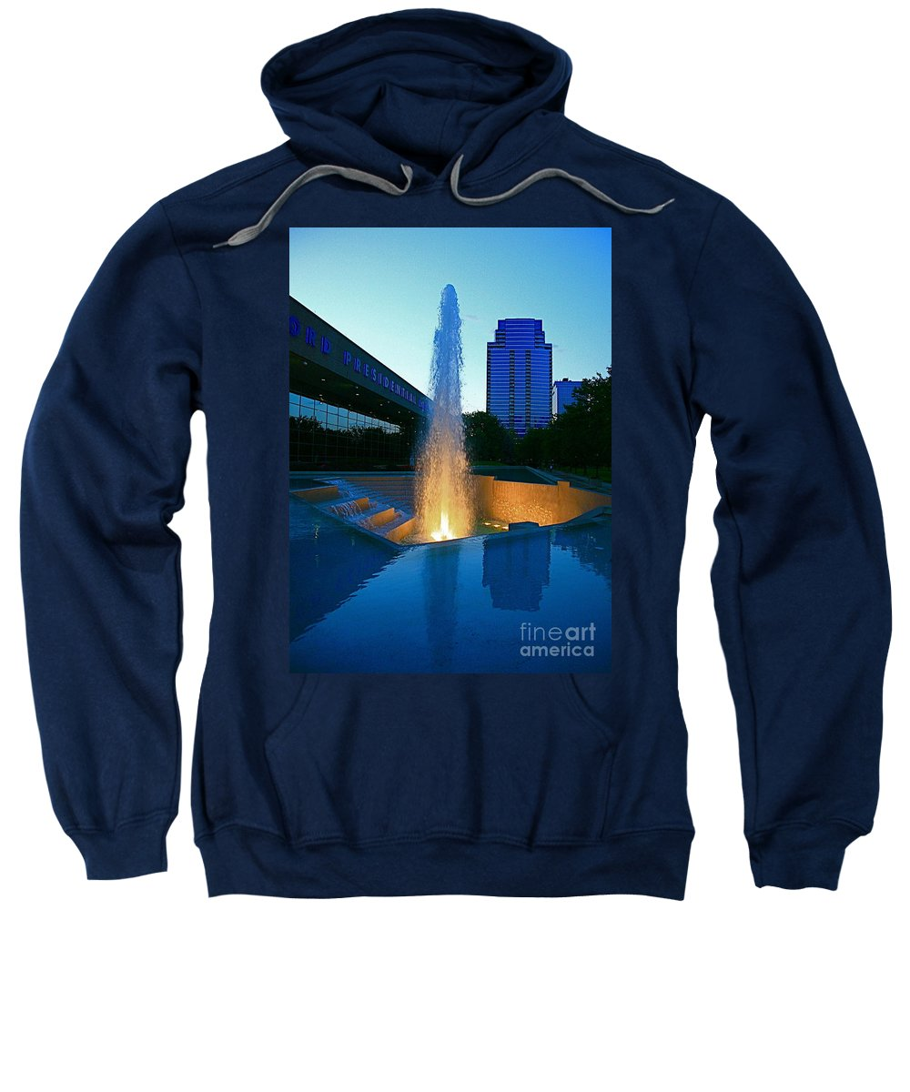 Ford Muesam Sweatshirt featuring the photograph Grand Rapids Mi-2 by Robert Pearson