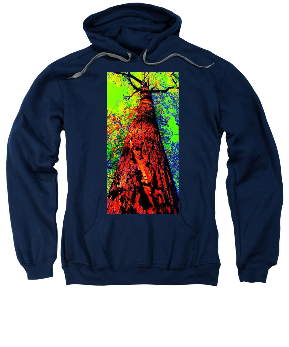 Hello Mother Sweatshirt featuring the photograph Hello Mother by Ed Smith