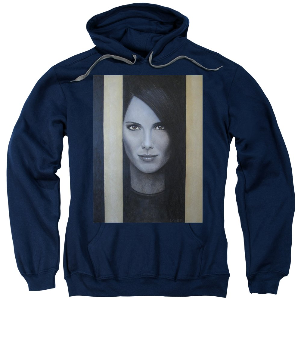 Hope Sweatshirt featuring the painting Hope by Lynet McDonald