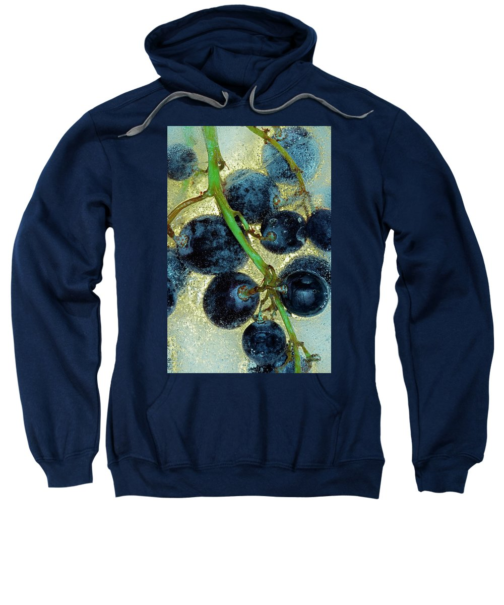 Wine Sweatshirt featuring the photograph Ice Wine by Michal Boubin