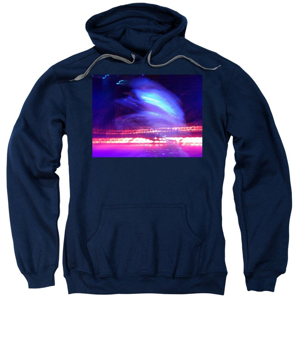 Icedance Sweatshirt featuring the digital art Icedance by Are Lund