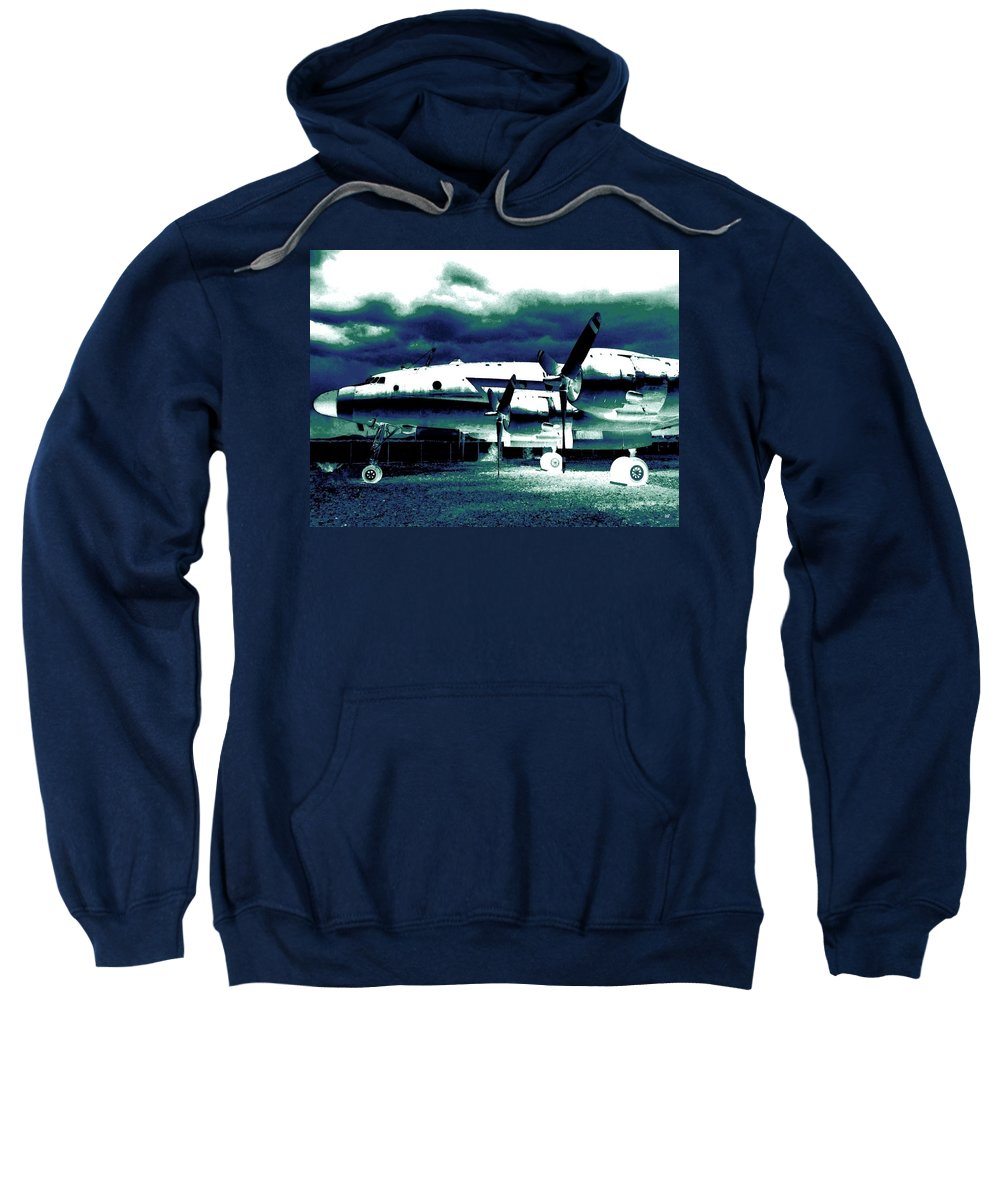 Impressions Sweatshirt featuring the digital art Impressions 7 by Will Borden