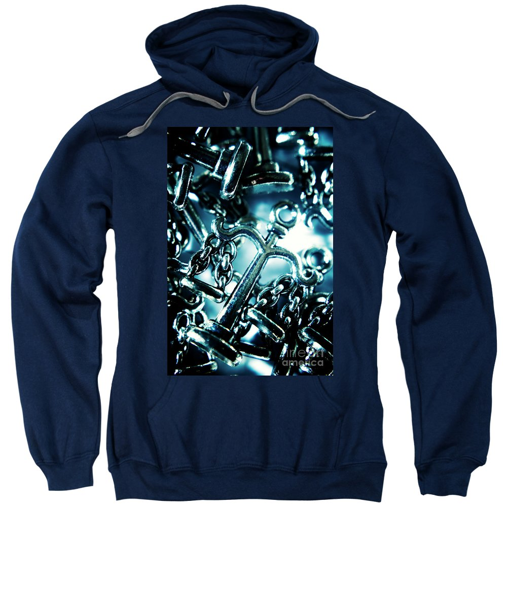 Concept Sweatshirt featuring the photograph In Liberty Of Justice by Jorgo Photography - Wall Art Gallery