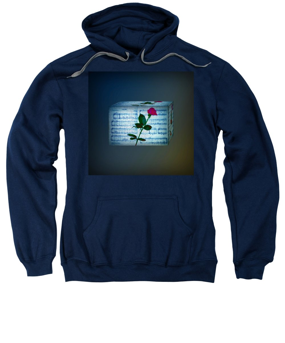 Beatles Sweatshirt featuring the photograph In My Life Cubed by Bill Cannon