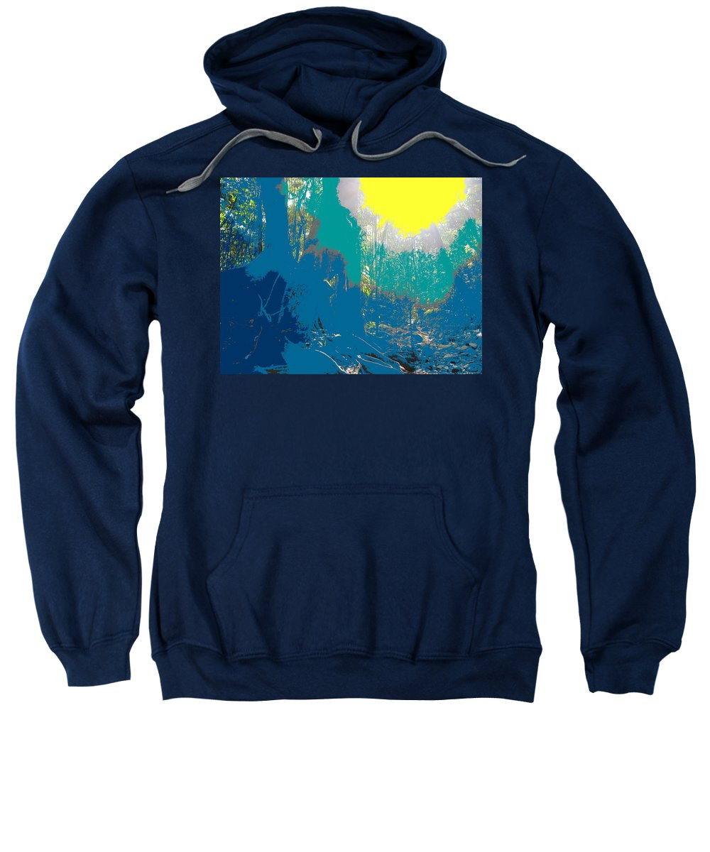 Rainforest Sweatshirt featuring the photograph In The Rainforest by Ian MacDonald