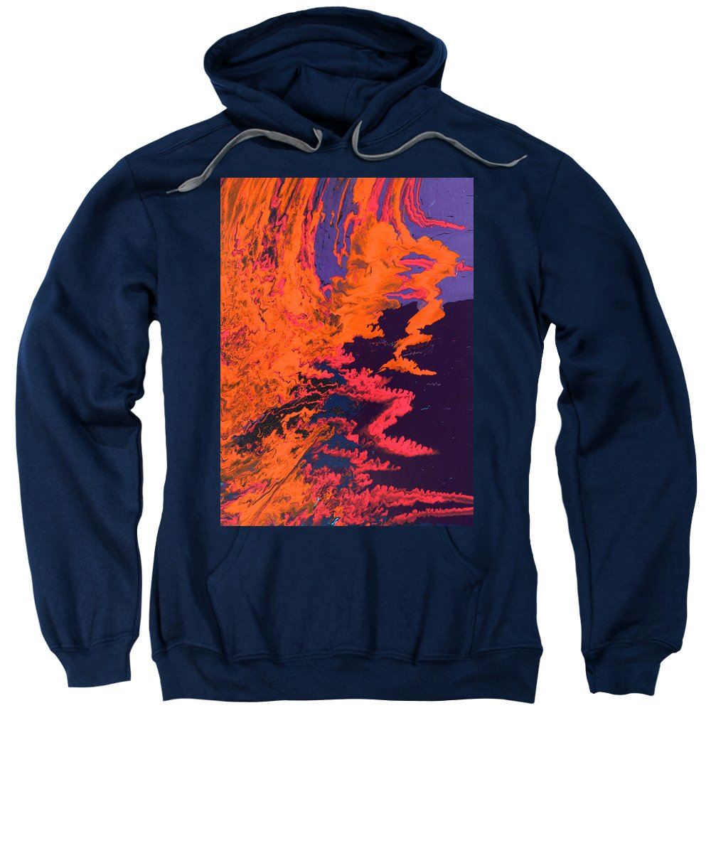 Fusionart Sweatshirt featuring the painting Initiative by Ralph White