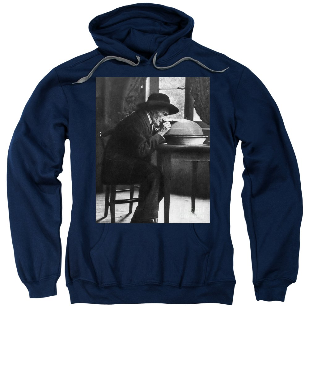 19th Century Sweatshirt featuring the photograph Jean Henri Fabre by Granger