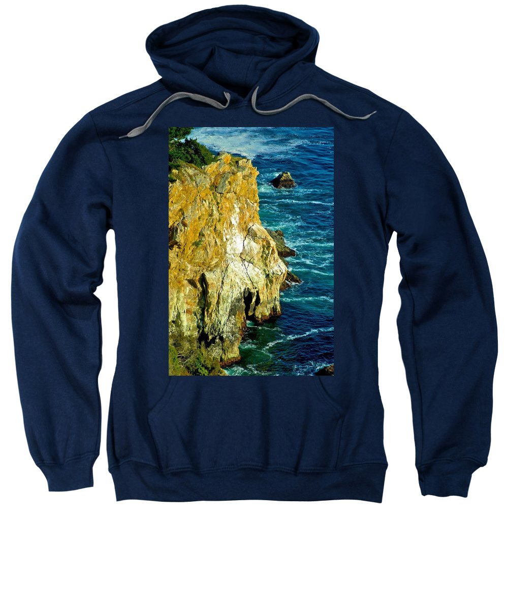 California Sweatshirt featuring the photograph Jump Far by Dale Chapel
