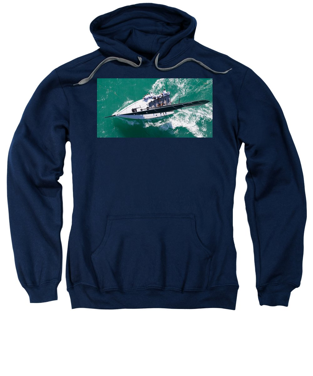 Water Sweatshirt featuring the photograph Key West 2015 by Steven Lapkin