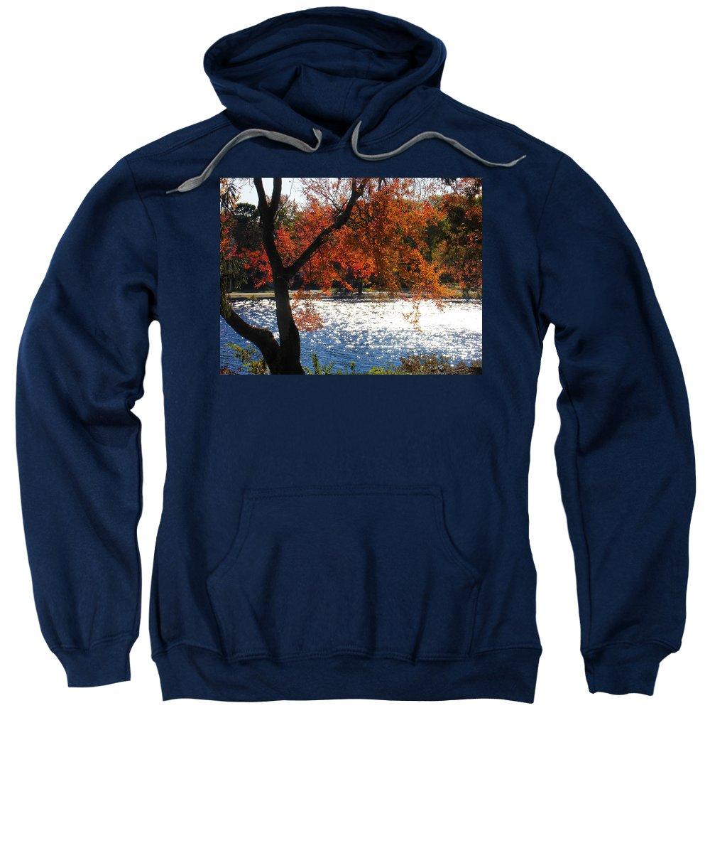 Landscape Sweatshirt featuring the photograph Lakewood by Steve Karol
