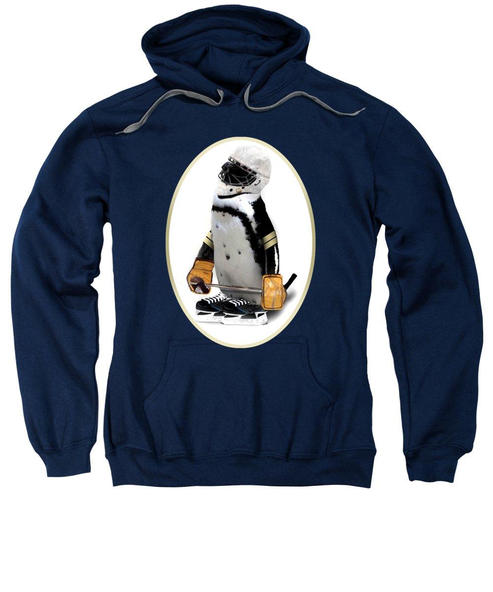Penguin Sweatshirt featuring the photograph Little Mascot by Gravityx9  Designs