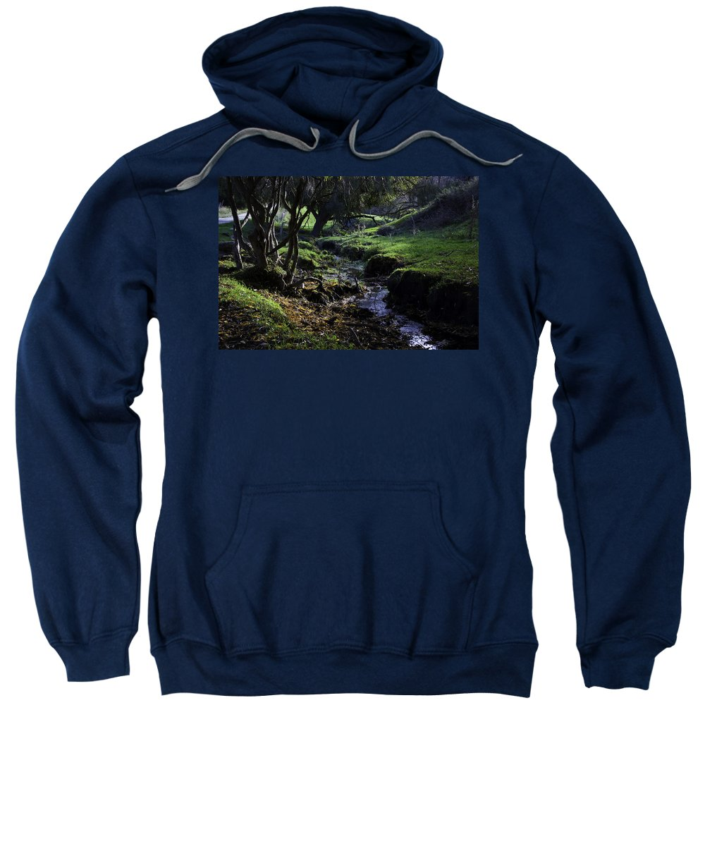 Stream Sweatshirt featuring the photograph Little Stream by Kelly Jade King
