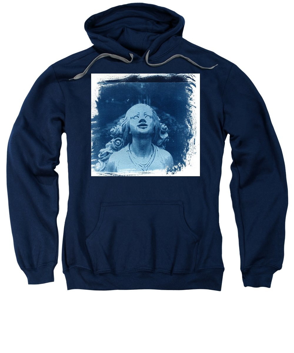 Head Sweatshirt featuring the photograph Looking Up by Jane Linders