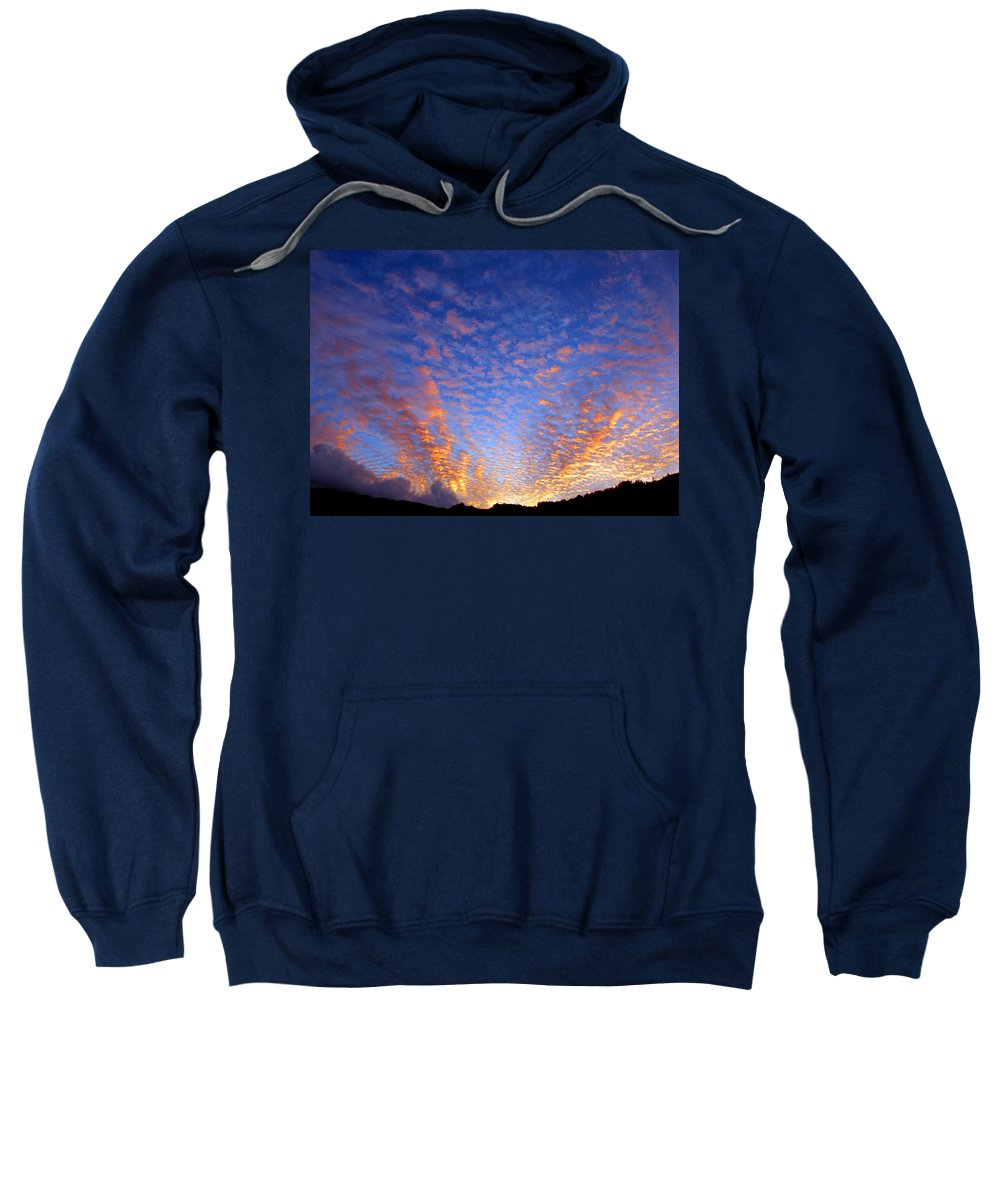 Hawaii Sweatshirt featuring the photograph Manoa Valley Sunrise by Kevin Smith