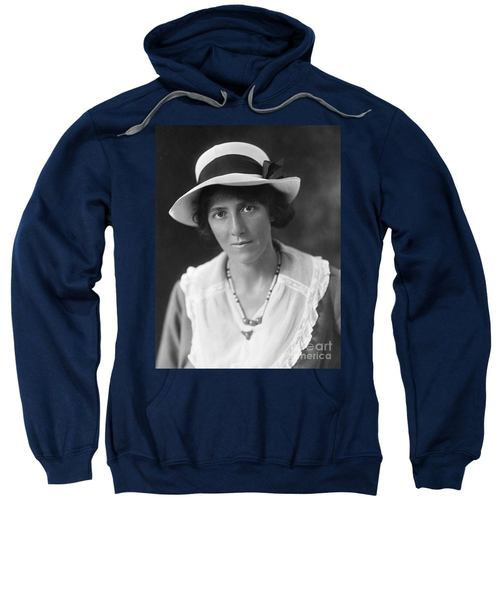20th Century Sweatshirt featuring the photograph Marie Stopes (1880-1958) by Granger