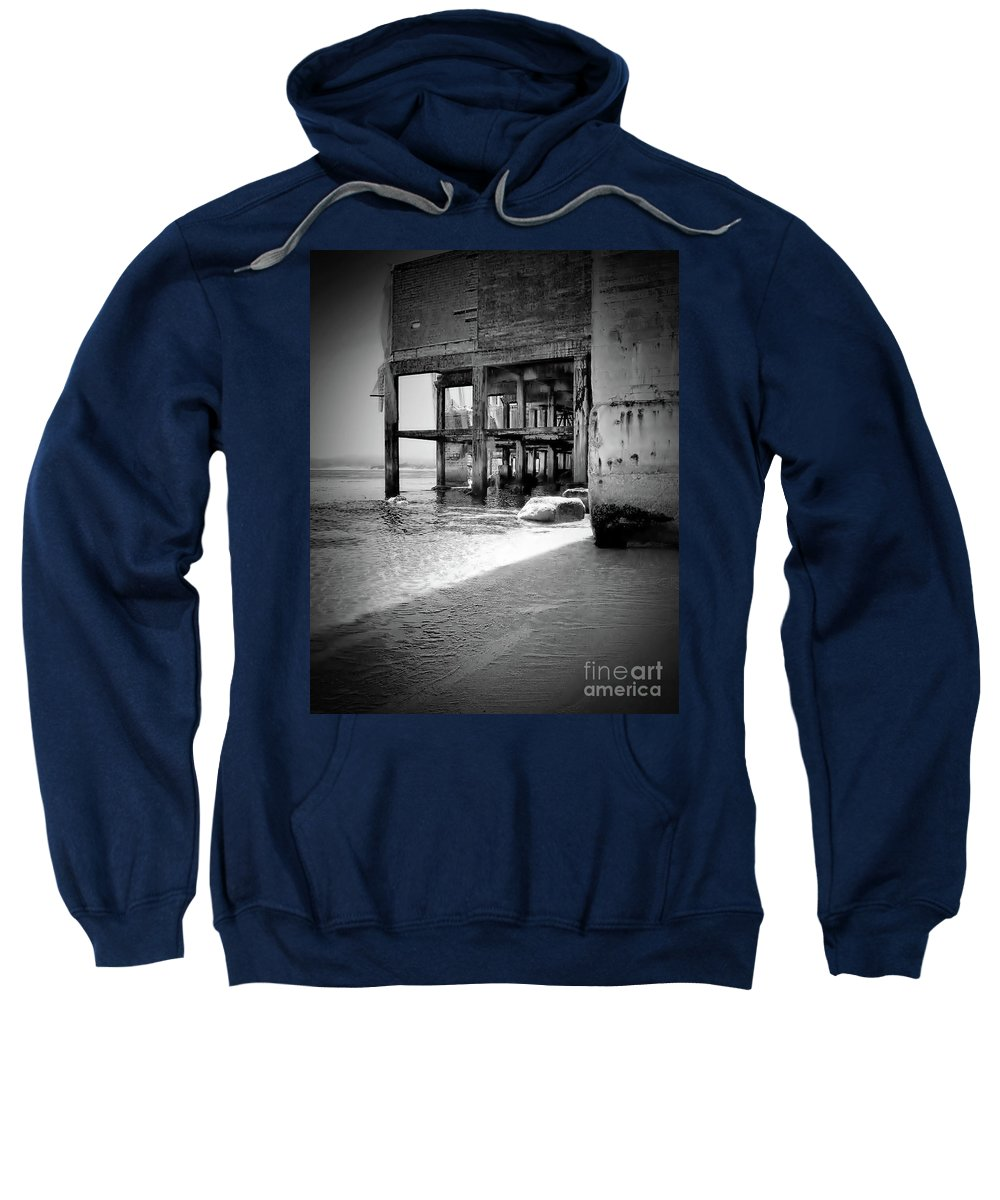 Beach Sweatshirt featuring the photograph Mesmerizing Beach by Amy Delaine