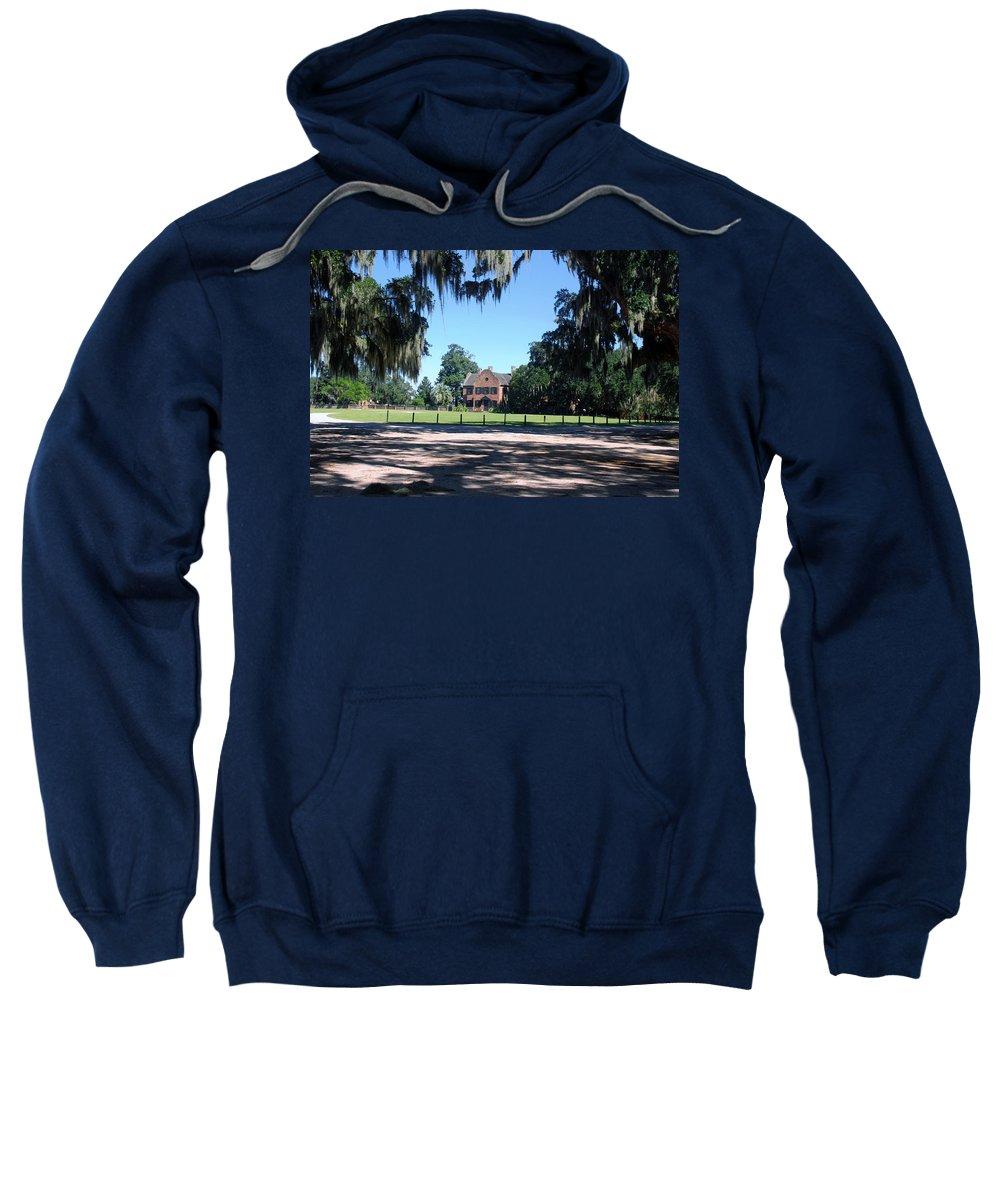 Photography Sweatshirt featuring the photograph Middleton Plantation Charleston Sc by Susanne Van Hulst